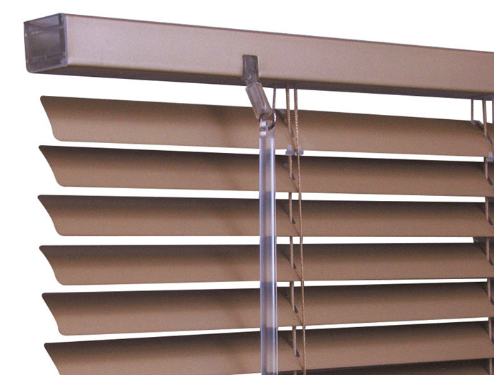 Made-to-measure static caravan venetian blinds are also available