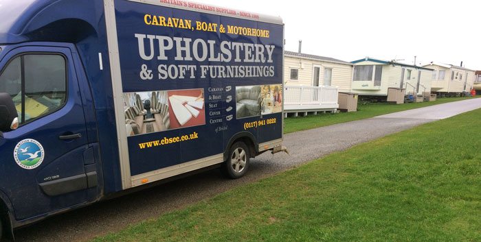 Once complte we may be able to deliver and re-fit your new upholstery and furnishings for you